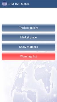 GSM-B2B Trading Platform poster