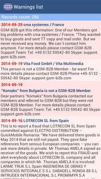 GSM-B2B Trading Platform apk screenshot