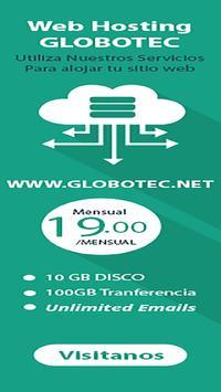 Web Hosting Argentina Globotec poster