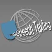 Hands free speech sms/texting icon