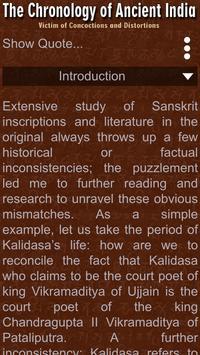 Chronology of Ancient India apk screenshot