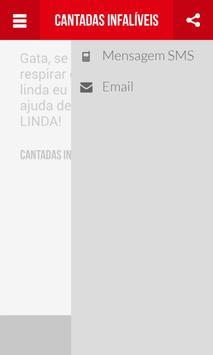 Cantadas Infalíveis apk screenshot