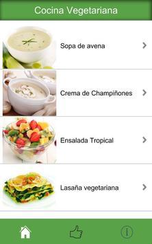 Cocina Vegetariana apk screenshot