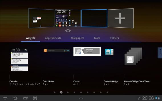 Resizable Contacts Widget apk screenshot
