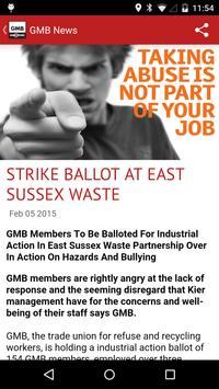 GMB Trade Union apk screenshot