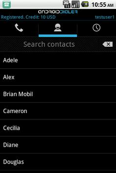 GMS Dialer Gold apk screenshot