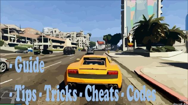 Codes for GTA 5 (2016) apk screenshot