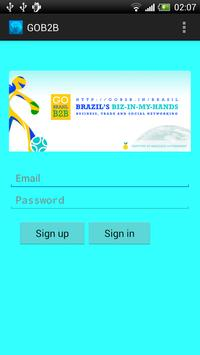 GOB2B Brazil poster