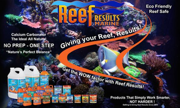 Reef Results Marine poster