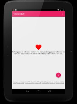 Love Quotes Daily Free poster