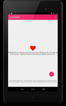 Love Quotes Daily Free apk screenshot
