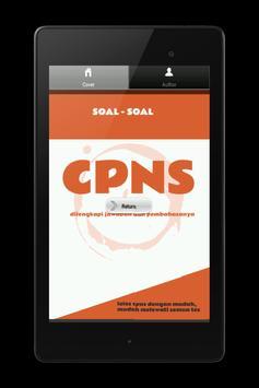 soal cpns lengkap 2014 apk screenshot