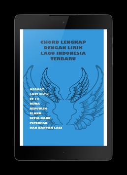 chord dan lirik lagu Indonesia apk screenshot