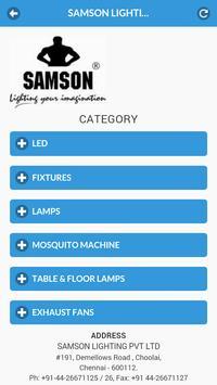 Samson LED poster
