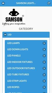 Samson LED apk screenshot