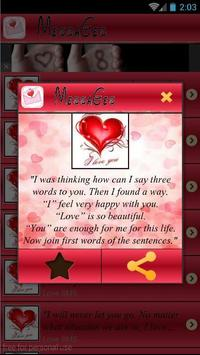 Sweet Love Messages 2016 apk screenshot