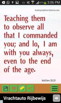 Daily Bible Promises apk screenshot
