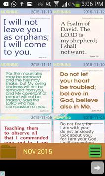 Daily Bible Promises poster