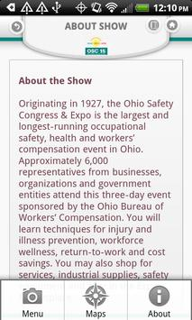 Ohio Safety Congress & Expo apk screenshot