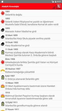 Atatürk Kronolojisi ve Sözleri poster