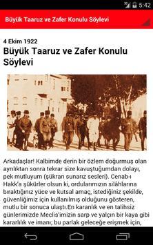 Atatürk Kronolojisi ve Sözleri apk screenshot