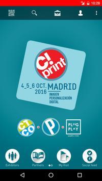 Salón C!Print Madrid poster