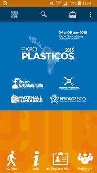 Expo Plásticos 2015 poster