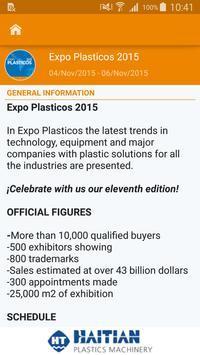 Expo Plásticos 2015 apk screenshot
