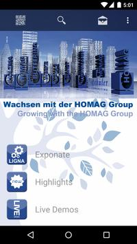 HOMAG Group EventApp poster