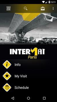 INTERMAT poster