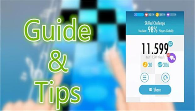 Free Guide For Piano Tiles 2. poster