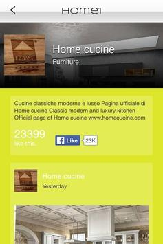 Home Cucine EN apk screenshot