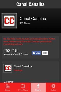 Canal Canalha apk screenshot
