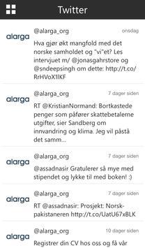 Alarga apk screenshot