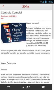 Alfandega AO apk screenshot