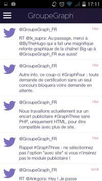 Groupe Graph' - Officielle apk screenshot
