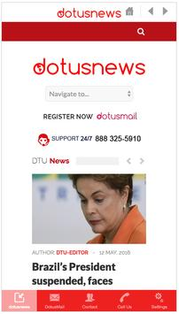 Dotusnews apk screenshot