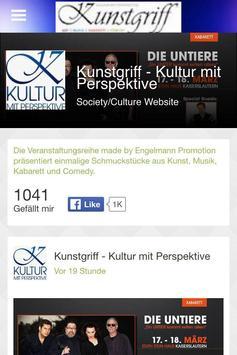 Kunstgriff Katzweiler poster