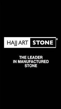 Hajj Art Stone. poster