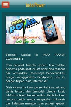 Indo Power poster