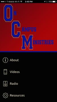 On Campus Ministries poster
