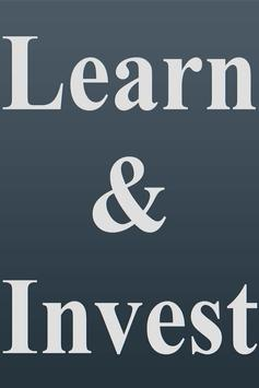 Learn & Invest poster