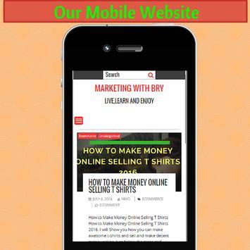 Marketing With Bry apk screenshot