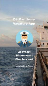 Maritieme Vacature App poster