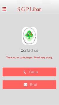 SGP LIBAN apk screenshot