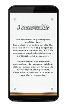 Eu Acredito - Rondonópolis apk screenshot