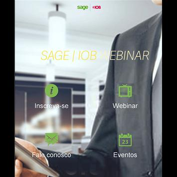Sage IOB - Webinar apk screenshot