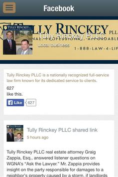 Tully Rinckey Law Firm poster