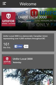 Unifor Local 3000 poster