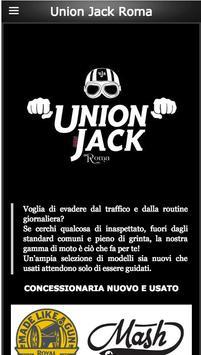 Union Jack Roma poster
